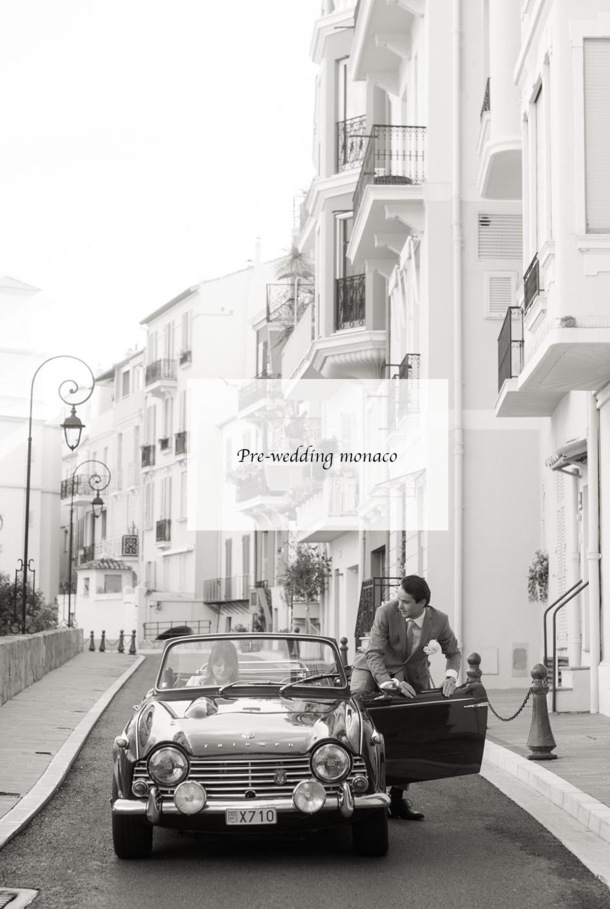 pre wedding session monaco