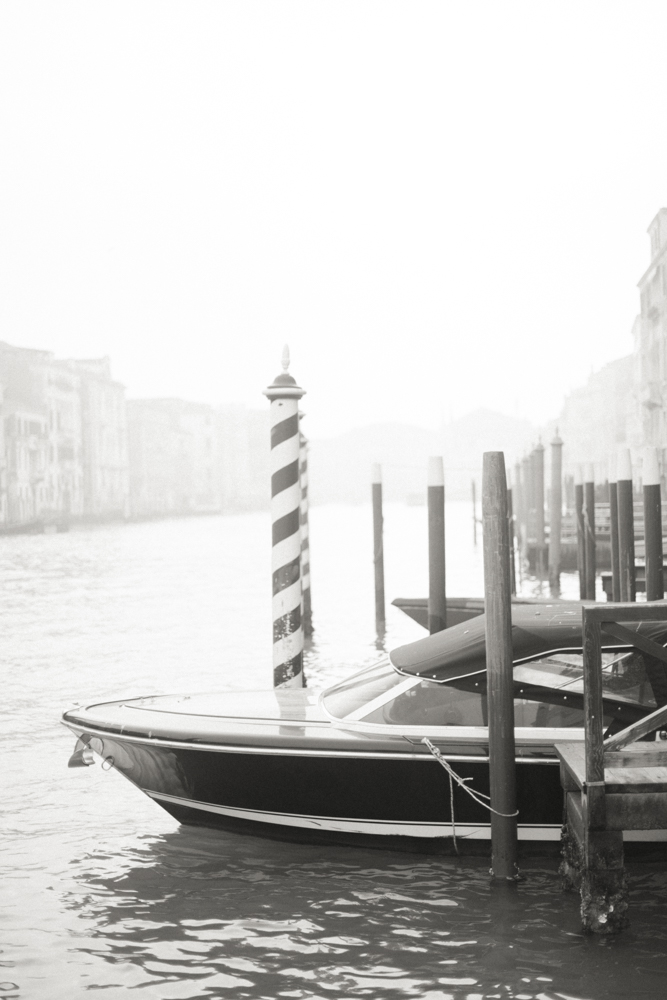 Venice and boat