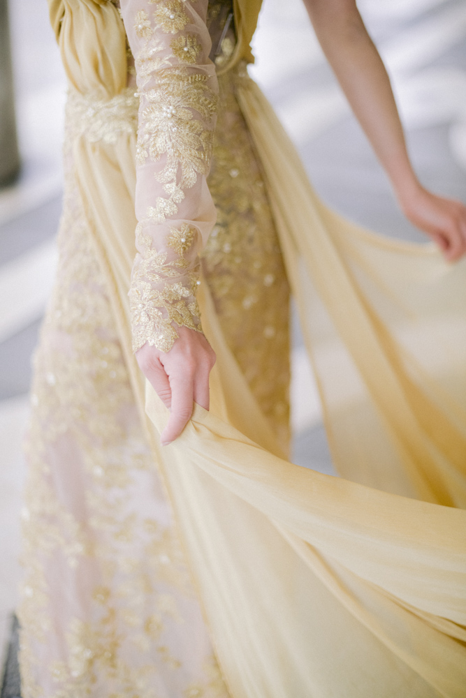 detail wedding drees mae couture paris